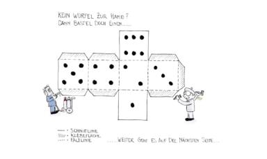 AGV Comic 3 Würfel